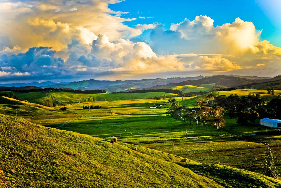 cyberomeo作品:美丽的新西兰