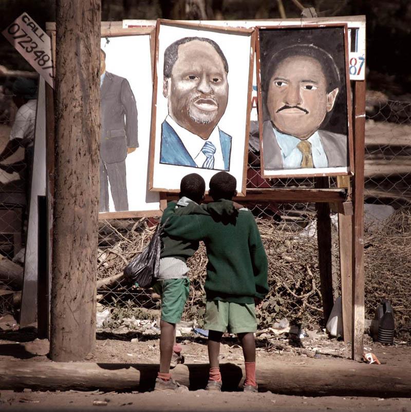 达顿作品:希望。。。(肯尼亚总统大选)