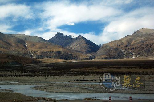 不走寻常路作品:青藏线上的山峰