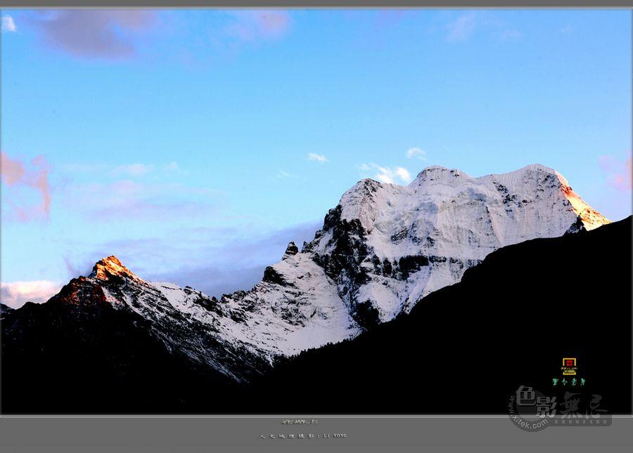 童心老男作品:在路上--仰望圣洁的雪山(组图)