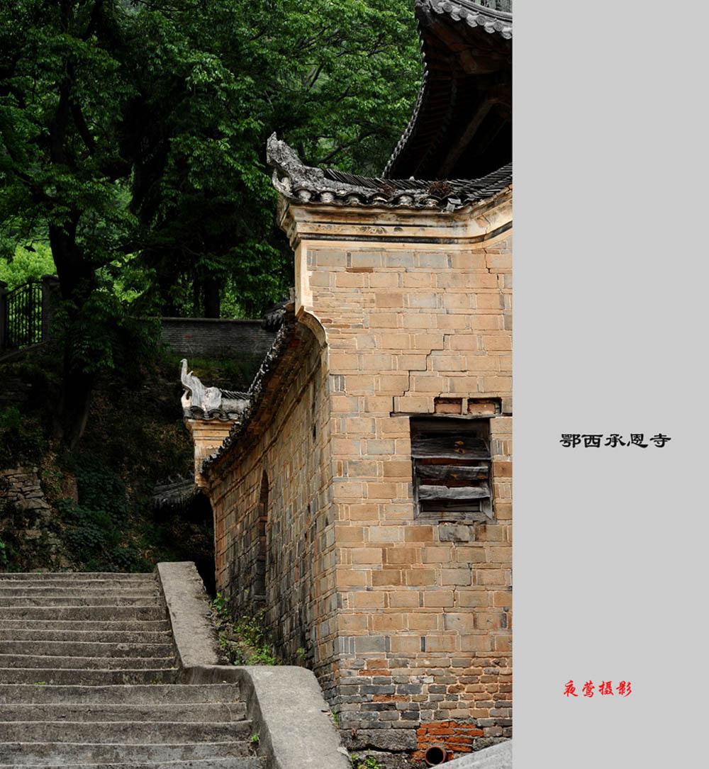 夜莺186作品:寂静的寺庙