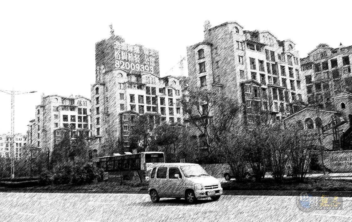 四季春作品:城市素描
