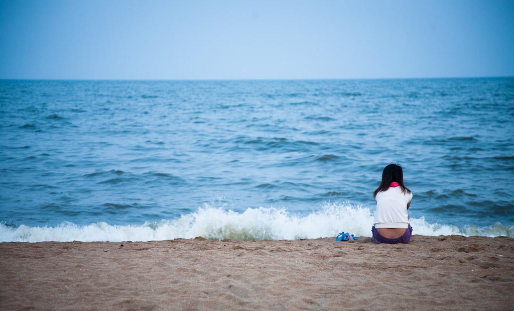小嘀咕作品:看海