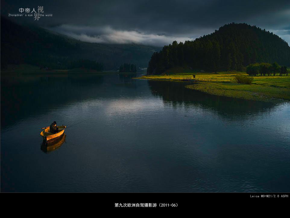 zhongdiren作品:六月的圣莫尼茨