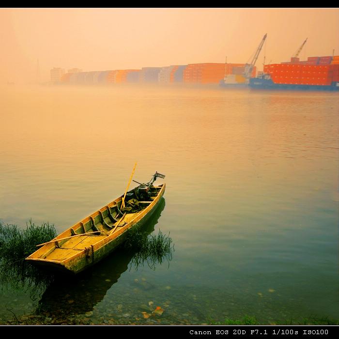 江河水作品:此岸.彼岸