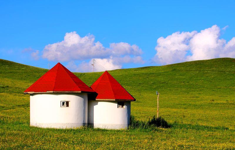 小程的故事作品:草原-小屋