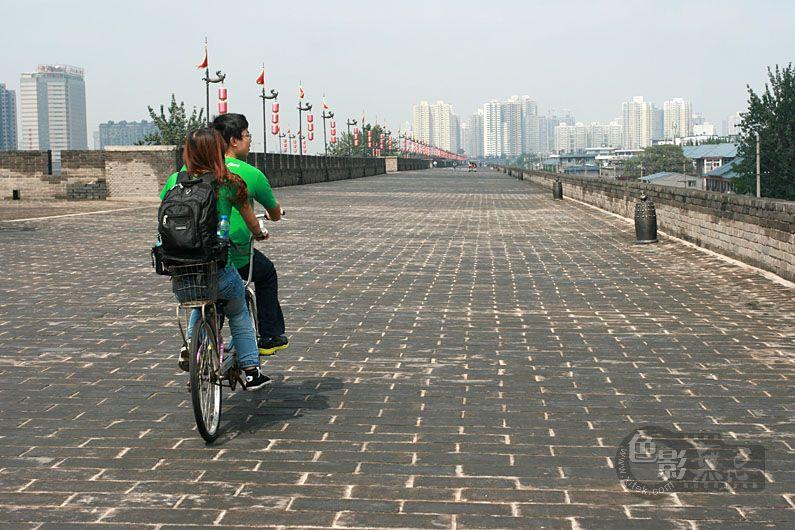 聆听细雨作品:西安城墙