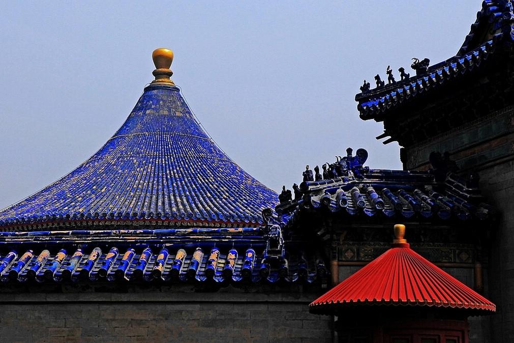 华汉作品:天坛的构成