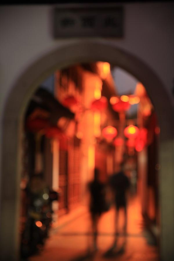 jameswang17作品:梦中的老街口