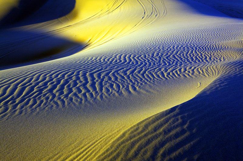 糊涂光影作品:走进神秘莫测沙漠