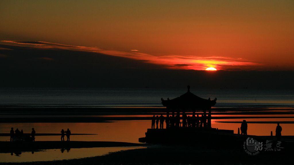 沉降作品:日出
