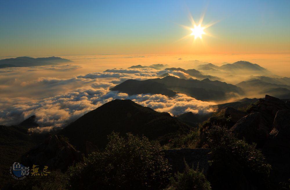 zhuweisheng631211作品:雾灵山