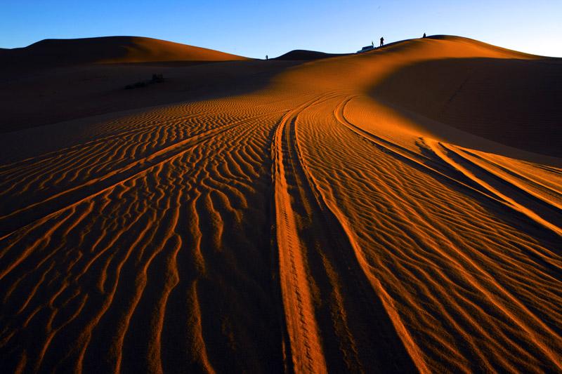 糊涂光影作品:沙漠晨光