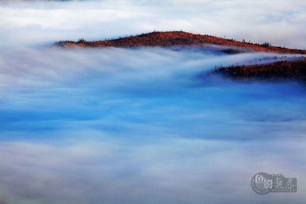 大岭鲜卑作品:雾漫大岭