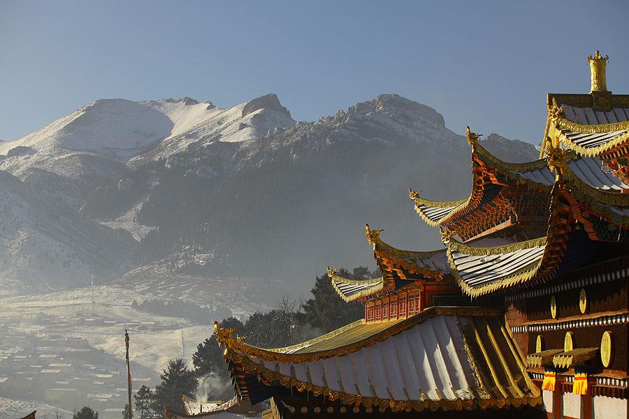 jameswang17作品:郎木寺的冬季