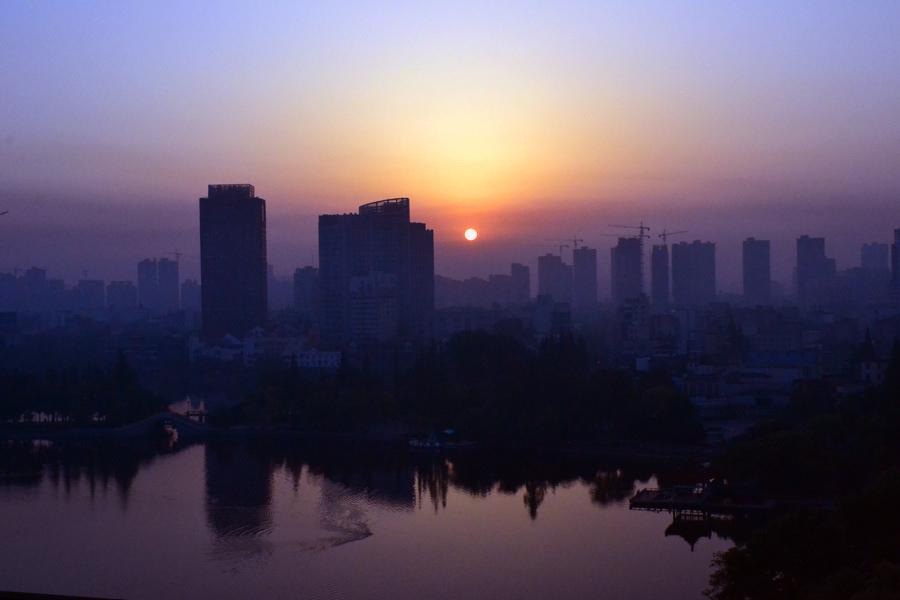 xinxiliu作品:公园的早晨