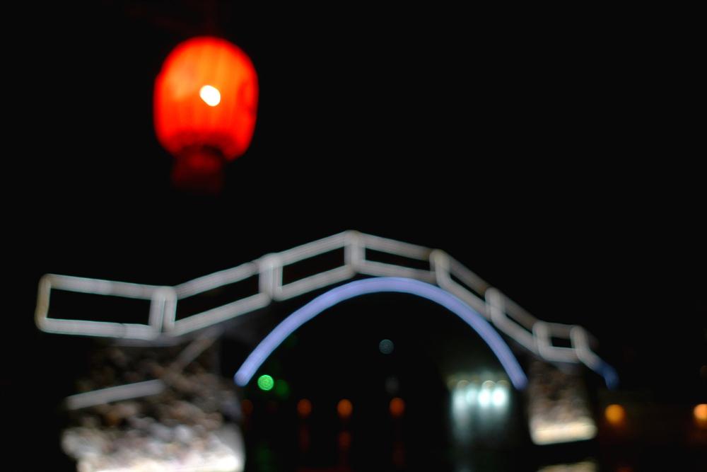 花影2011作品:古运河夜色(3)