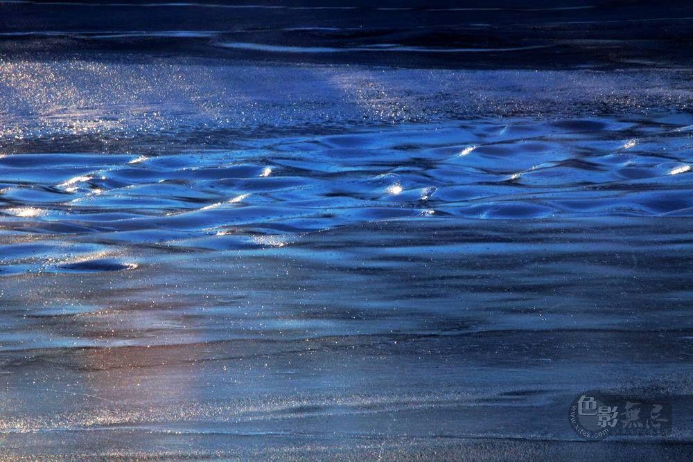 大岭鲜卑作品:冰河光影