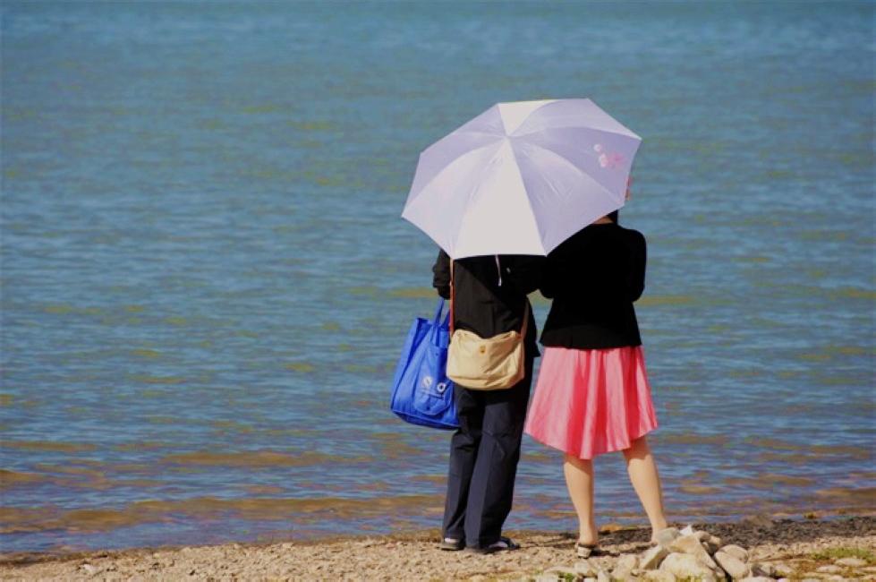 长安羁客作品:青海湖畔之美好时光