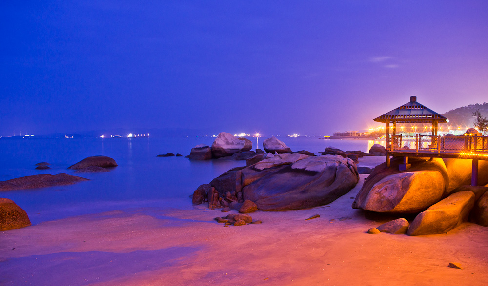 chinalijia作品:海滨夜景