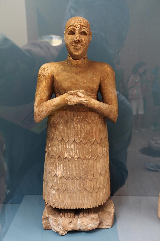 曼曼作品:古代东方博物馆