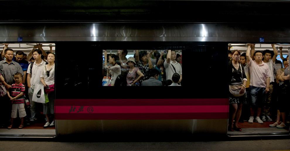 dag265作品:地铁印象