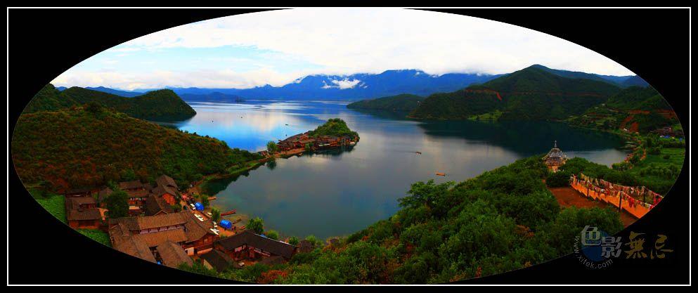 三峡风光作品:泸沽湖