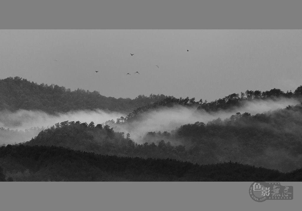 家乡的小河作品:烟雨江南
