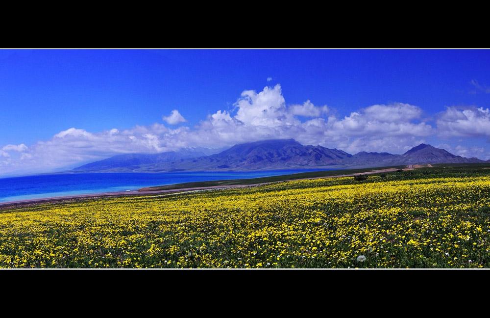 路有界心无疆作品:美丽的塞里木湖