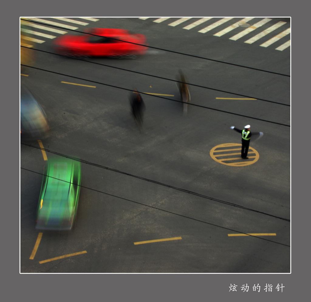 yuxi886作品:炫动的指针