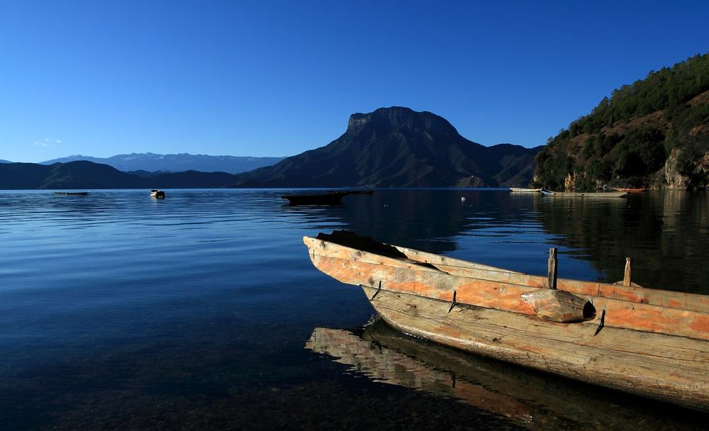 我馭風行作品:泸沽湖