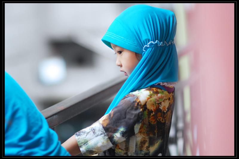 达多作品:穆斯林的小天使