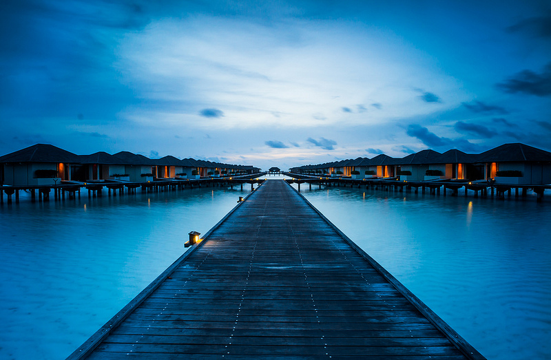lzmboy作品:Maldives的晨曦蓝调~~