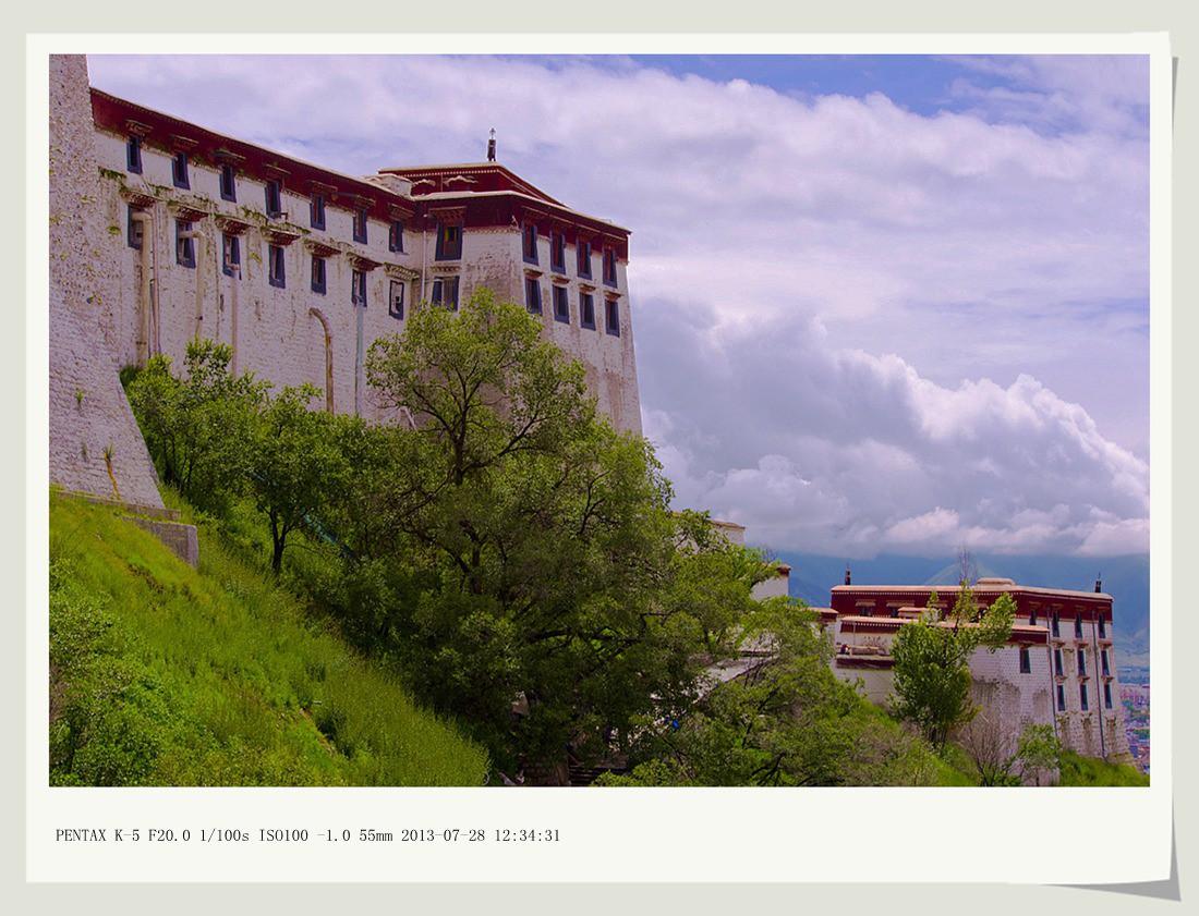 沙子2012作品:布达拉宫