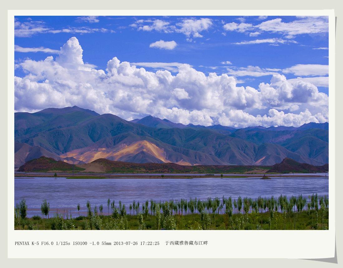 沙子2012作品:雅鲁藏布江畔