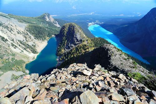 Rockies007作品:路易斯湖-艾格尼丝湖