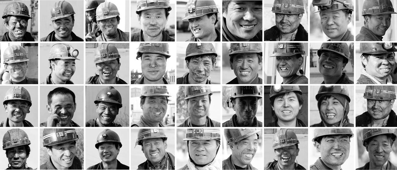 愤怒的沙漠作品:矿工的微笑(纪实)