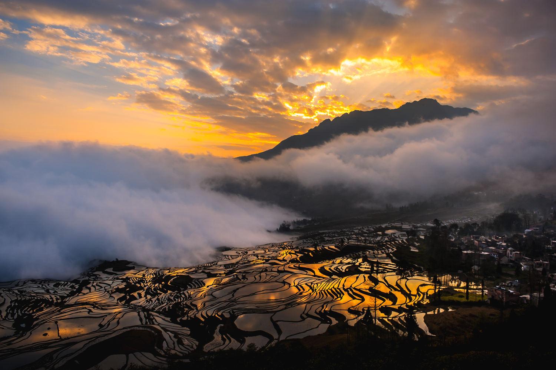 龙民摄影作品:《滇之韵 》