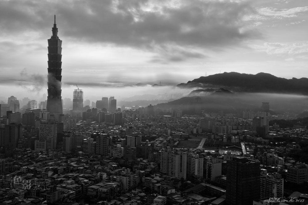 wtistang作品:早安台北