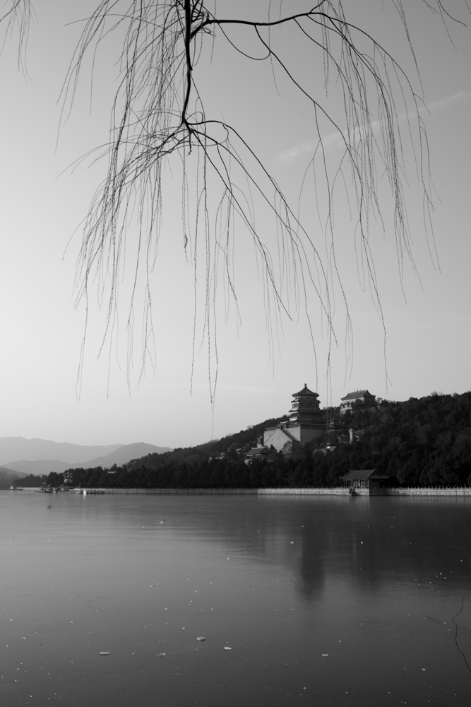icenter作品:颐和园的冬日音符