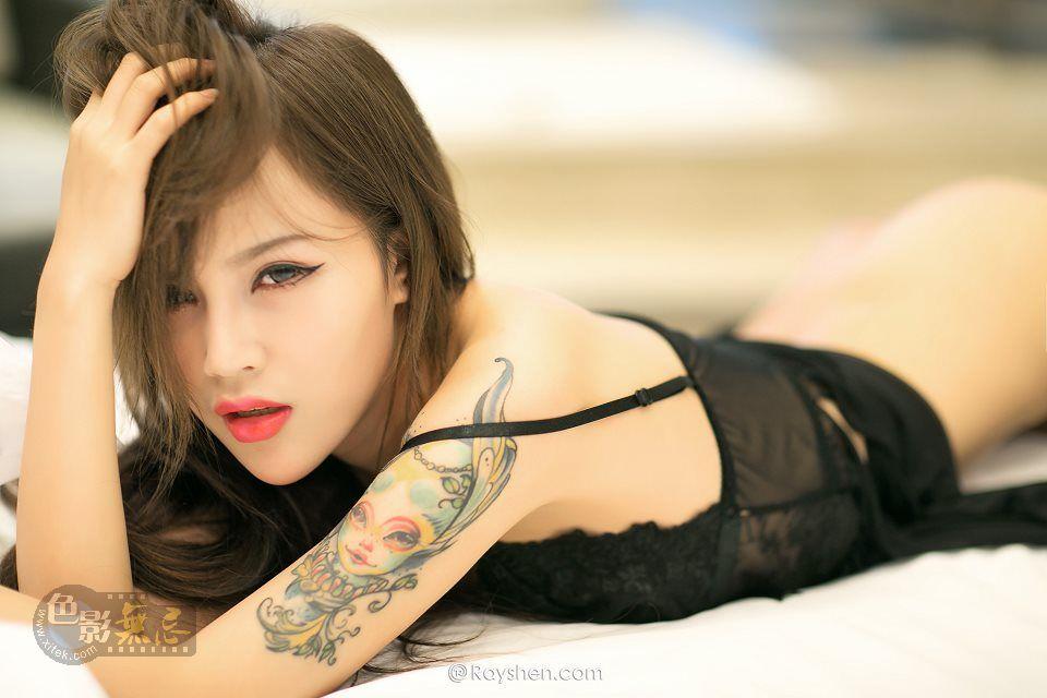睿奢文化作品:loli 纹身少女