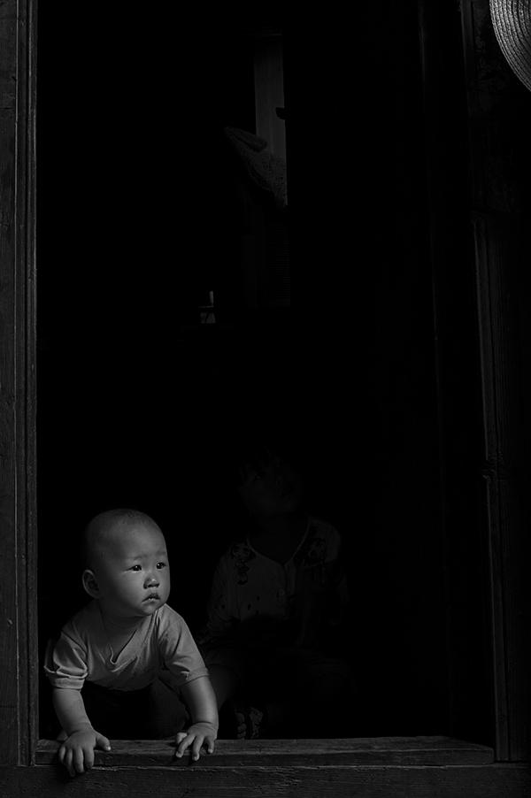路万里作品:山村日记-1