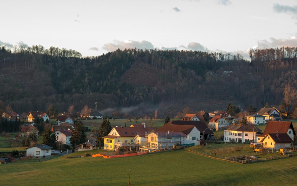 icenter作品:早晨的小村庄
