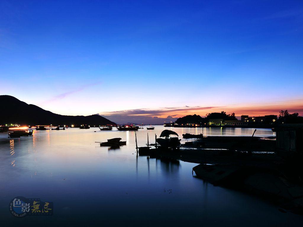 广州三宝作品:渔港