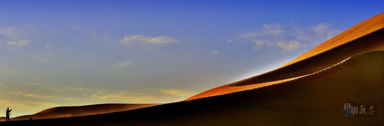 山海原野作品:浩瀚与渺小