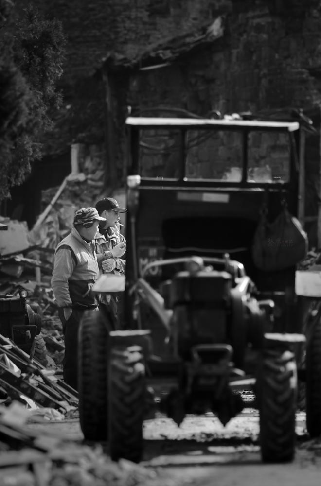 秋痕作品:消失的街道