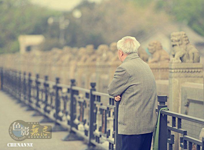 chenanne作品:老人与卢沟桥