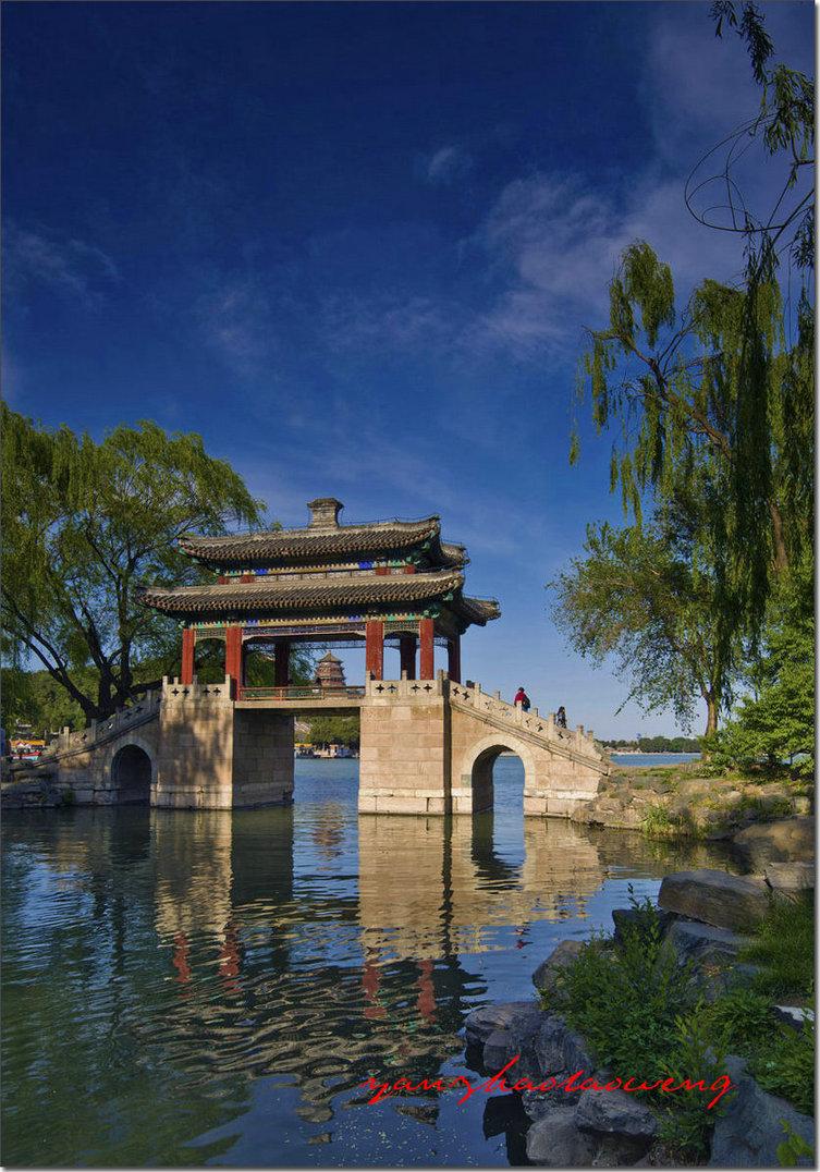 燕赵老翁作品:颐和园的桥-豳风桥