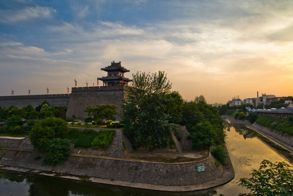西安老李作品:古城印象
