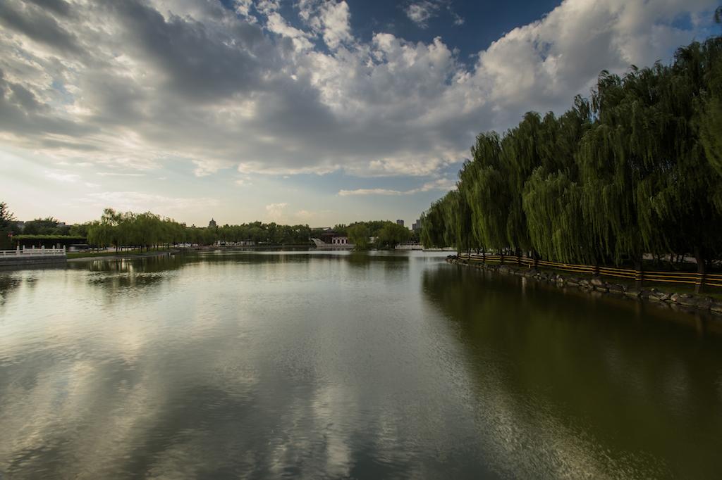 西安老李作品:远处的大雁塔